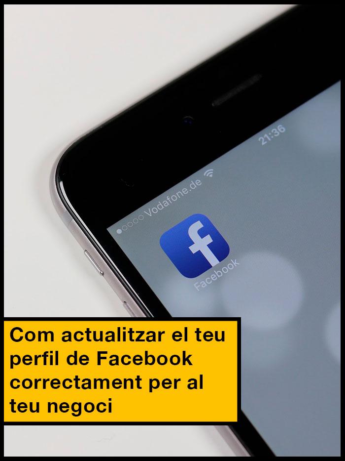 actualizar perfil Facebook