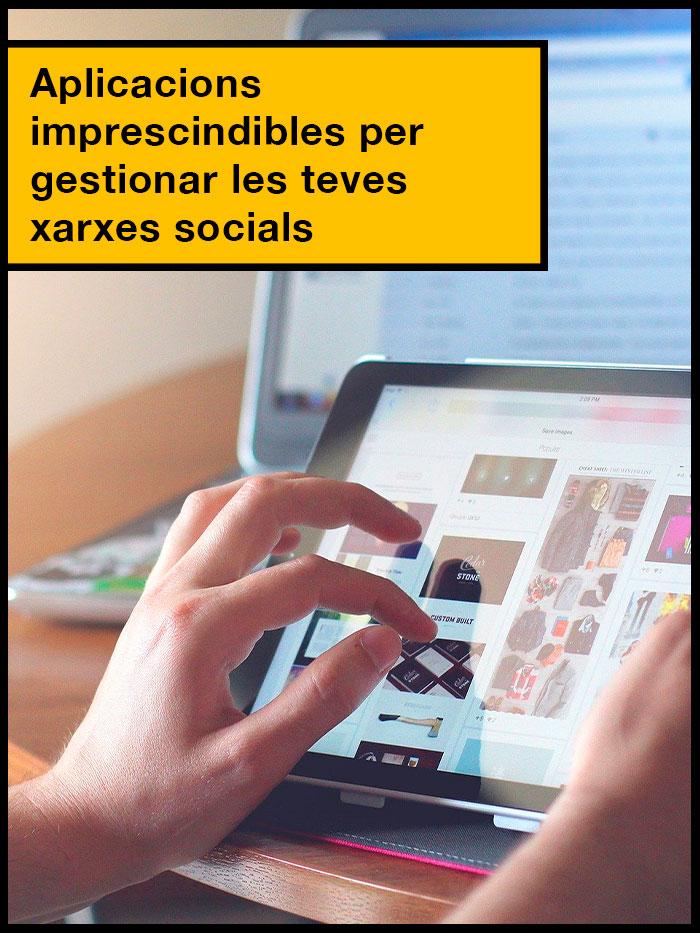gestió de les xarxes socials