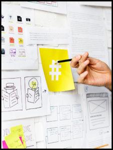 hashtag en las redes sociales